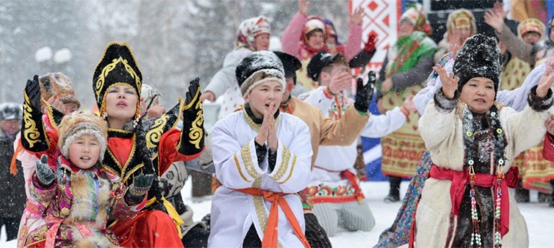 Чагаа байрам в Республике Алтай