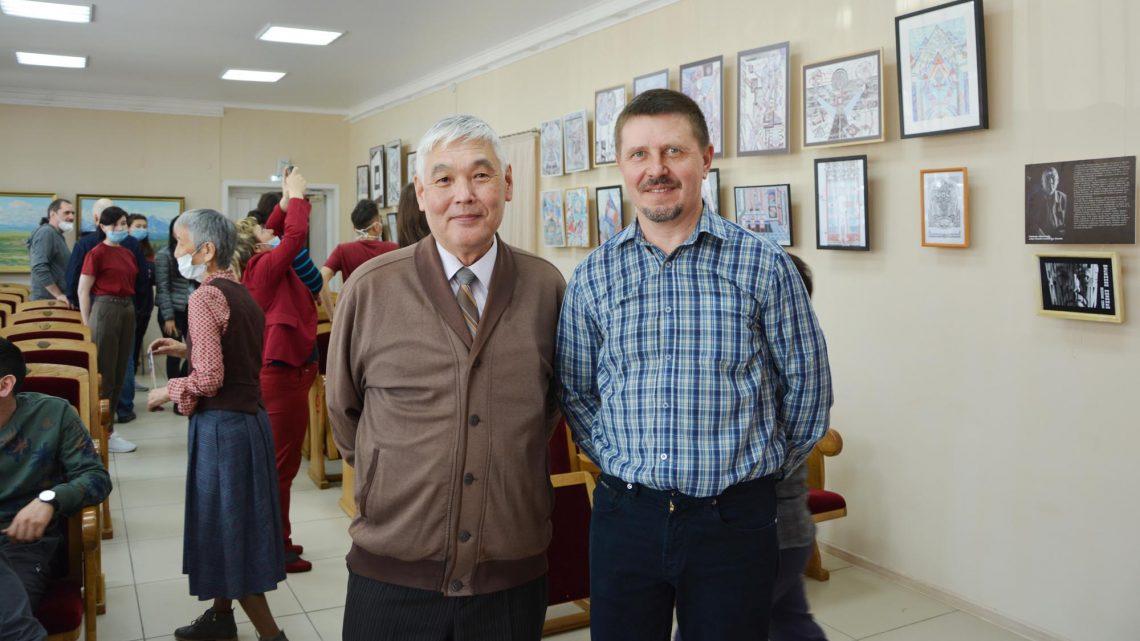 Состоялось открытие выставки  Владимира Ельникова и Павла Ойношева